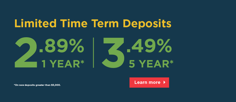 Limited Term Deposit Rates